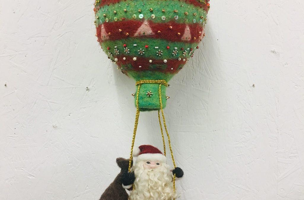 Flying Santa