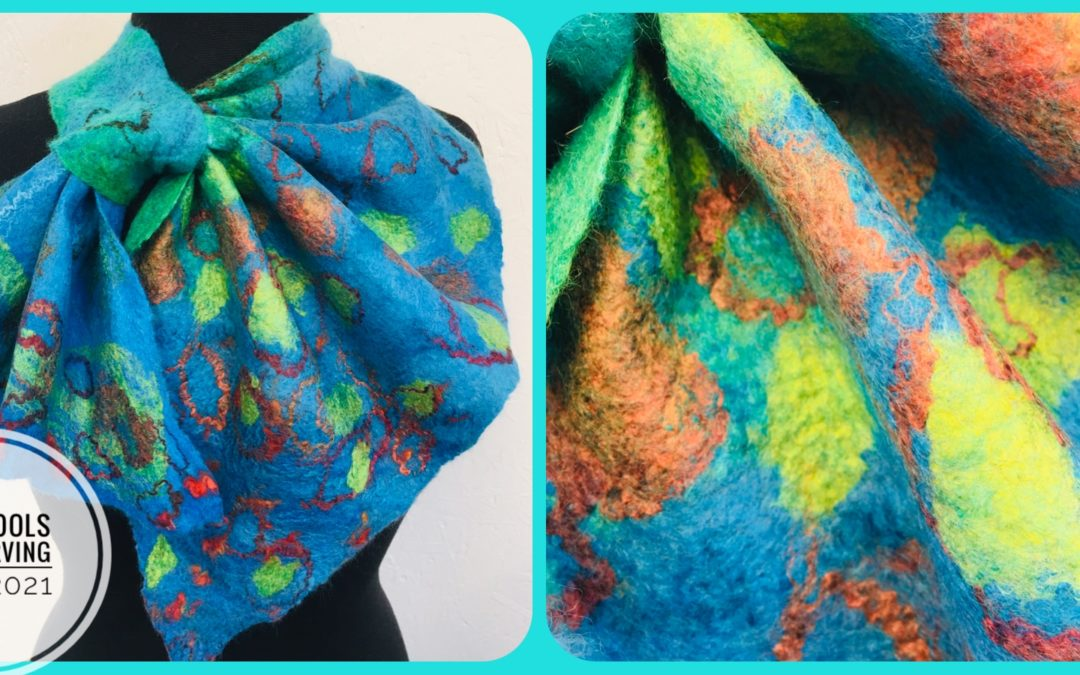 Felted French Kerchiefs