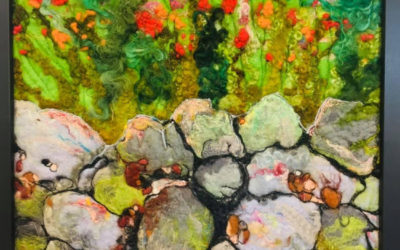 Felted Art – 'If Walls Could Talk'
