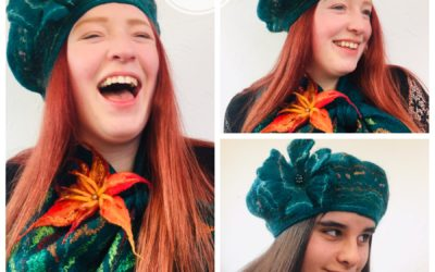 Felted Berets, Hats & Scarves