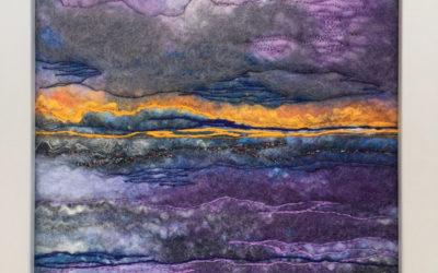 Felted Art – 'Twilight'