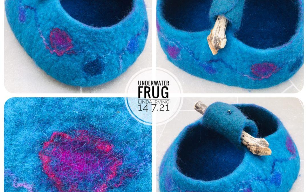 Felted Art – 'Underwater' Frug