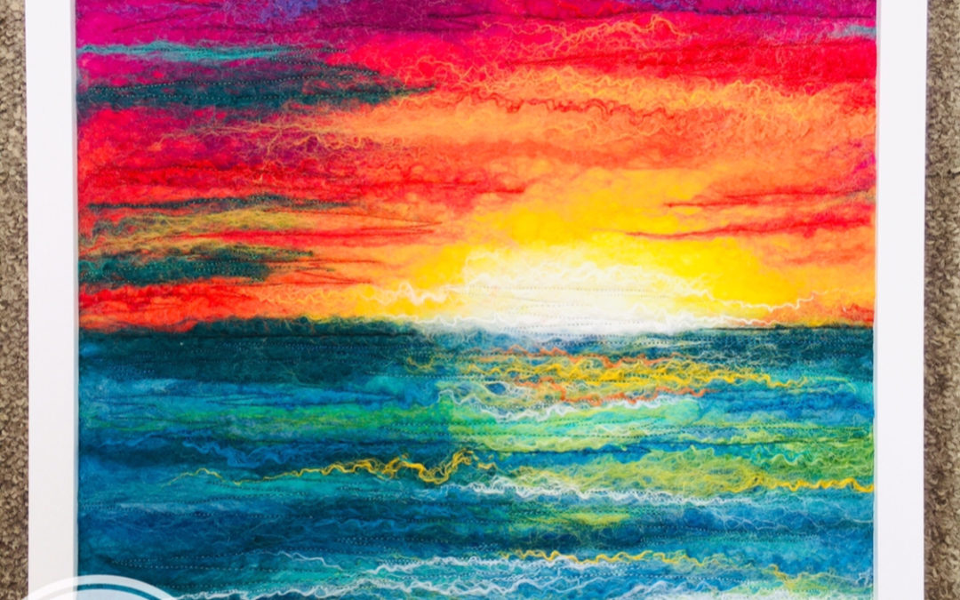 Felted Art – Gloaming